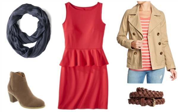 Peplum outfit 2