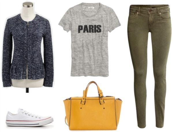 Peplum outfit 3
