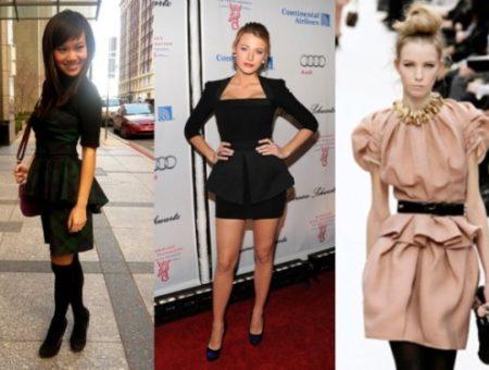 Peplum Dress Trend 2