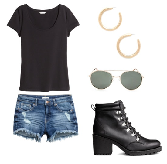 lady gaga- perfect illusion outfit