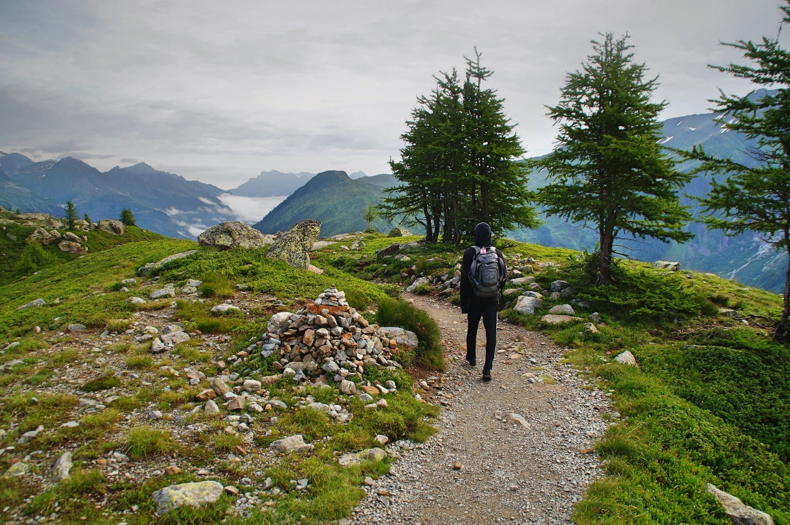 person-taking-a-path-during-their-hike