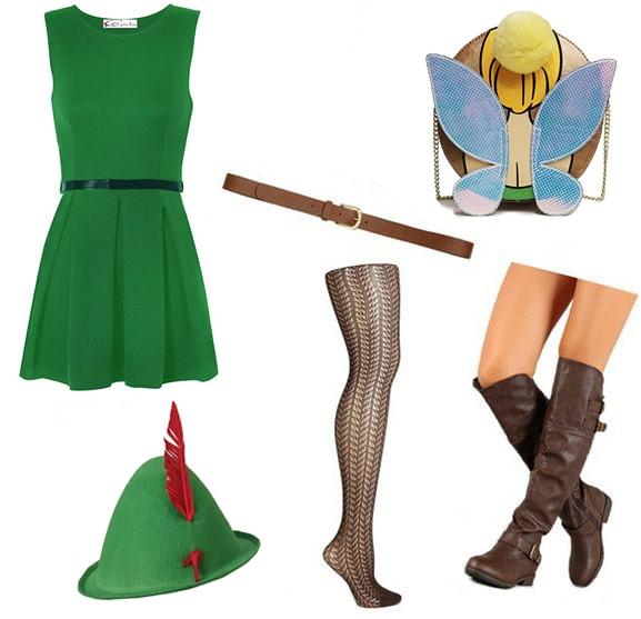 Last minute costume ideas: Peter Pan costume
