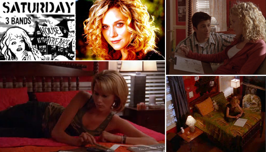 Peyton Sawyer's room from One Tree Hill