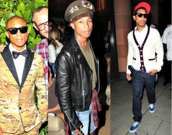 Pharrell williams fashion