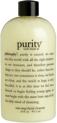Philosophy's purity made simple cleanser