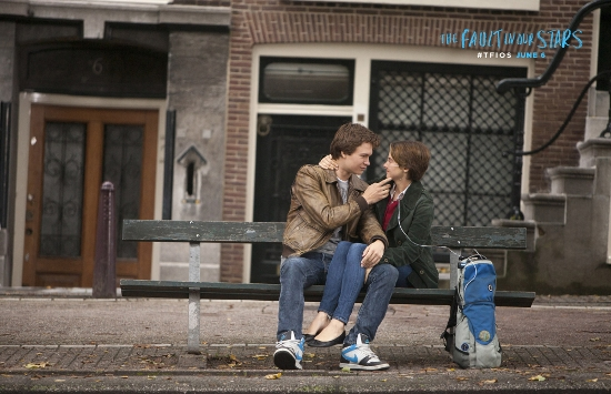 The Fault in Our Stars Hazel and Augustus