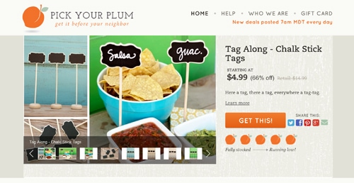 Pick your plum screenshot