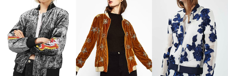 embellished jacket collage