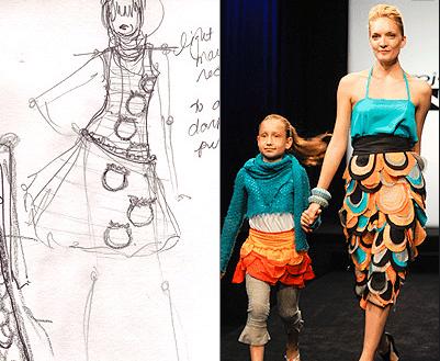 Amy Sarabi's Project Runway Orange Pants