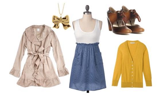 Wardrobe inspired by Rihannon