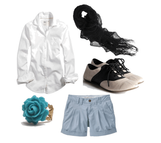 Another outfit inspired by Camilla Belle's style