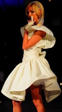 Haleh Nematzadeh Lydia Dress on Kat Graham