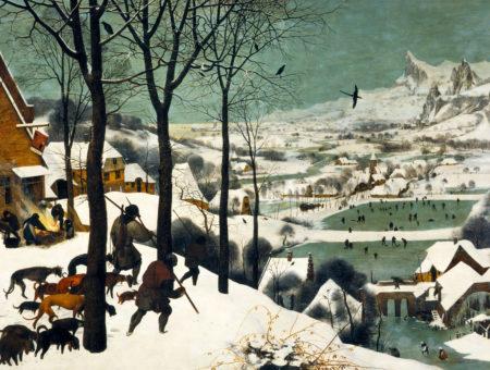 bruegel hunters in the snow