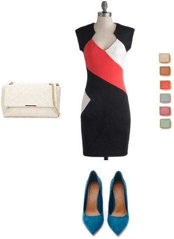 Pietmondrian inspired outfit 1