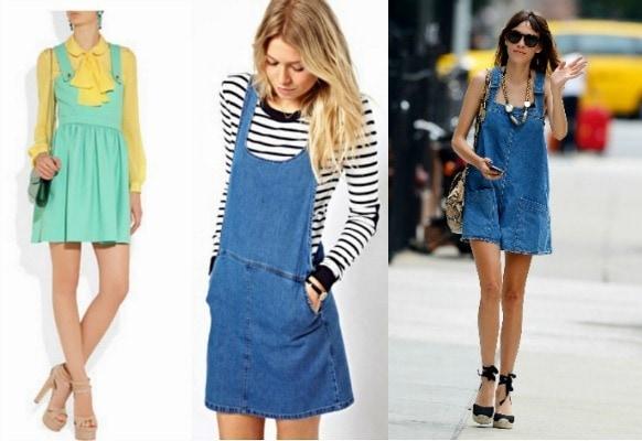 Pinafore dress trend