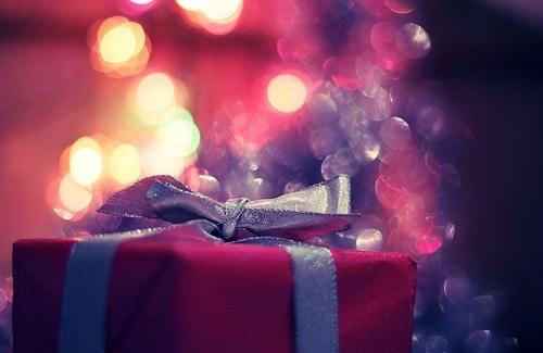 Pink Christmas Present