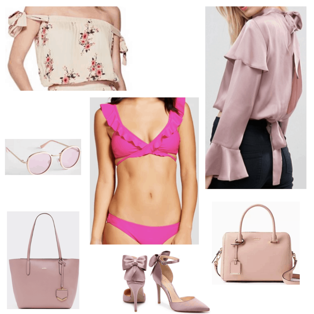 All Pink Clothes and Accessories