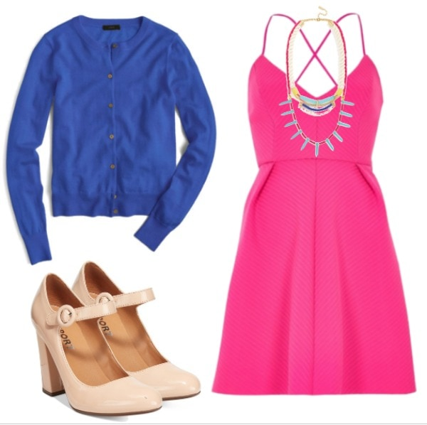 pink and blue outfit 1