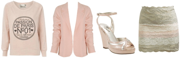Pink Champagne Clothing and Accessories