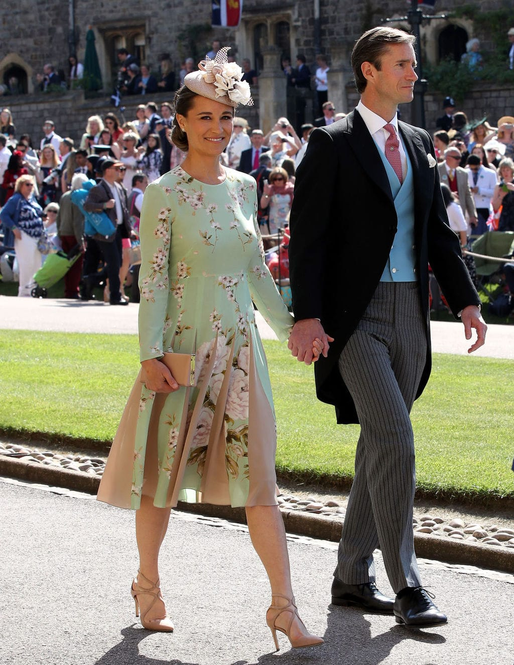 Pippa Middleton at Meghan and Harry's wedding