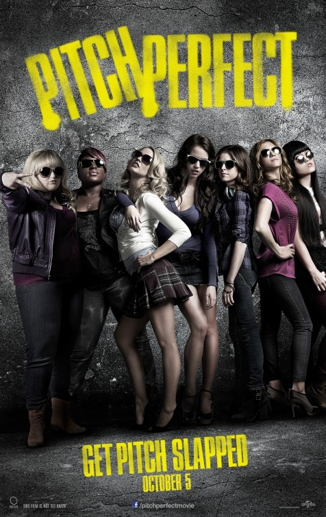 Pitch Perfect Gray Poster