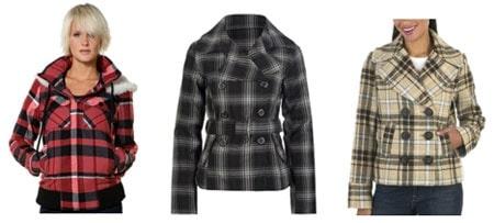Plaid Jackets and Plaid Coats