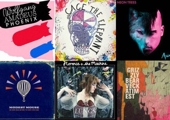 College Fashion Weekend Playlist - Animal Tracks album covers
