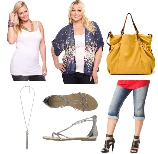 plus size summer-casual outfit