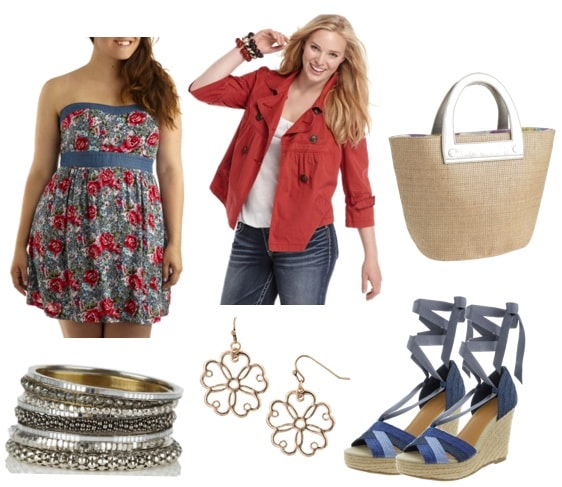 plus size summer- dressy outfit