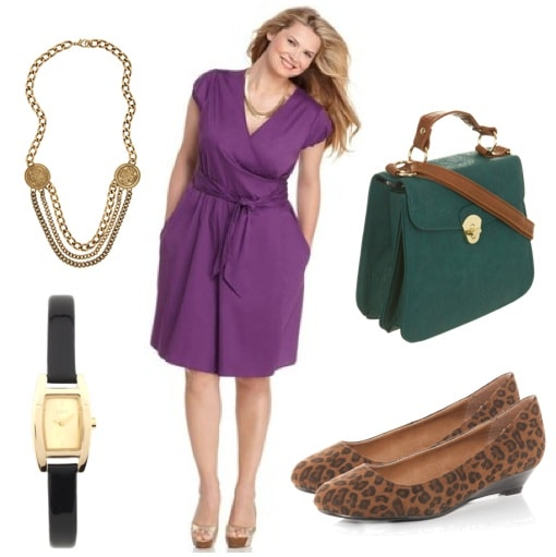 plus size summer- work outfit