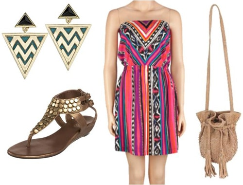 Dressy outfit inspired by Disney's Pocahontas
