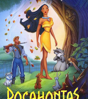 Walt Disney's Pocahontas movie poster