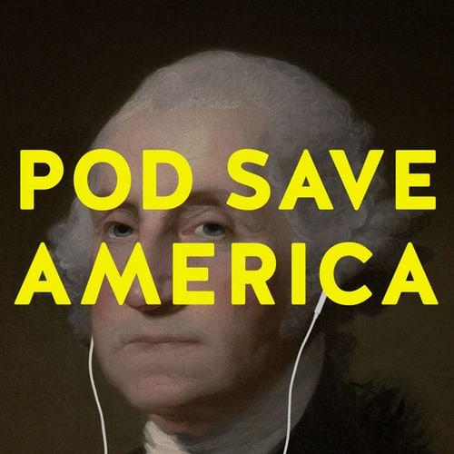 Pod Save America podcast logo