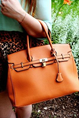 Polished handbag at mount mary university