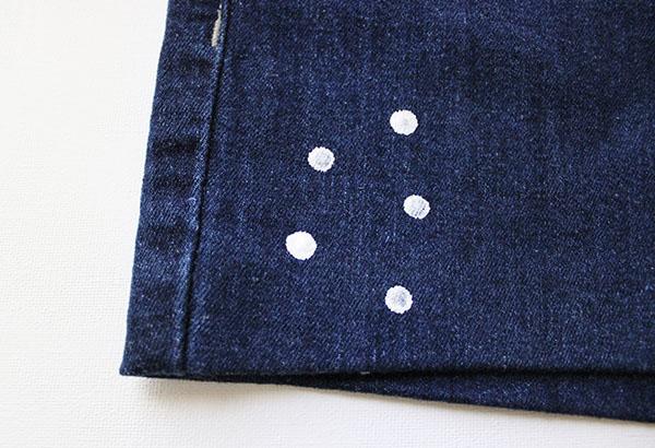 Polka dot shorts step one copy