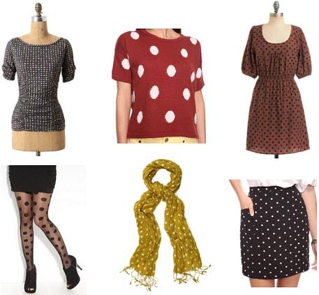 Polka dots fall 2011 must-have