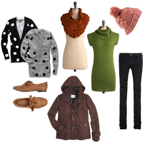 How to rock polka dots on campus