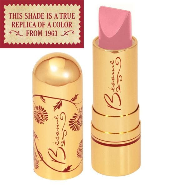 Besame's Portrait Pink lipstick from the year 1963
