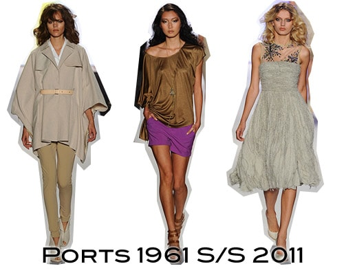 Ports 1961 S/S 2011 Collection
