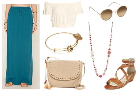 Greek Mythology Fashion- Poseidon-inspired outfit