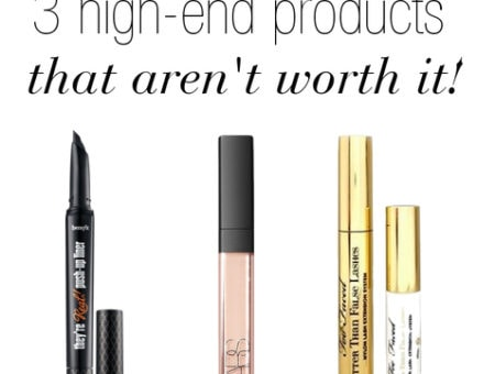 3 High-End Makeup Products That Aren't Worth It