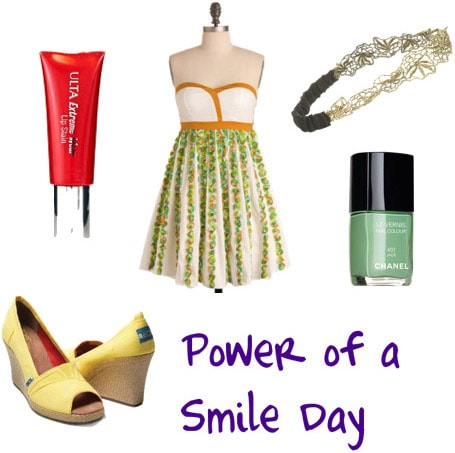 Power of a Smile Day Outfit