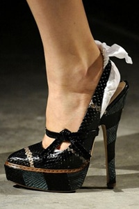 Prada 8 Inch Heels Runway