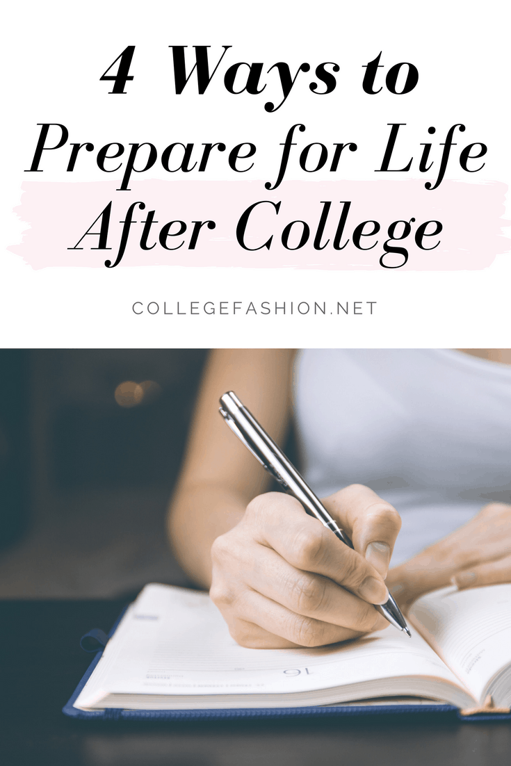Preparing for life after college