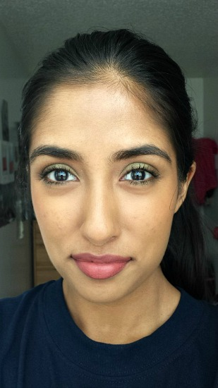 Pretty spring makeup