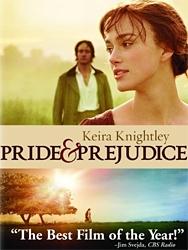 Pride & Prejudice 2005 Dvd