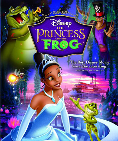 Disney's The Princess and the Frog movie poster