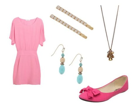 Princess Peach Inspired Outfit