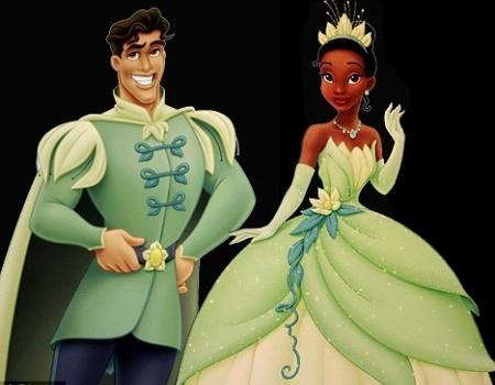 Princess Tiana Green Dress