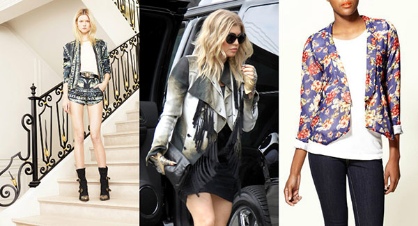 Printed blazers